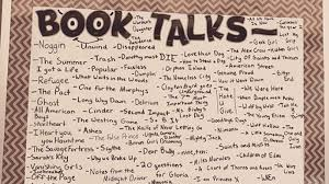 Book Talk Anchor Chart What Is A Book Talk Your Guide To Making Them Work In The