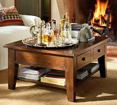 pottery barn camden reclaimed wood coffee table