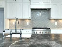herringbone kitchen backsplash black and white herringbone kitchen backsplash