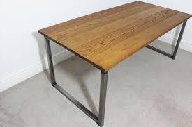 industrial style office desk modern industrial desk. Vintage Industrial Desks Bespoke Style Office UK Russell Oak Steel In Plans 11 Desk Modern