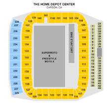 Small Picture HOME DEPOT CENTER Carson CA tickets Directions seating chart