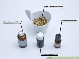 image titled make a hair lightening spray step 1