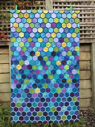 Honeycomb quilt by Wendy's Quilts and More | Hexagon quilts ... & Honeycomb quilt by Wendy's Quilts and More Adamdwight.com