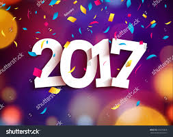 2017 background. Simple 2017 Happy New Year 2017 Background Decoration Greeting Card Design Template  2018 Confetti Vector Illustration Inside Background