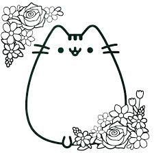 Coloring Page Cat D3905 Kitty Cat Coloring Pages Free Printable