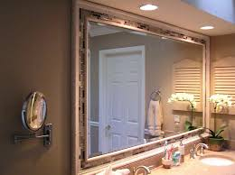 Mirror Frames Uk Wood Bathroom Mirror Metal Custom