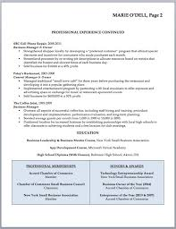 Small Business Owner Resume Sample Beautiful Resume For Small Stunning Small Business Owner Resume