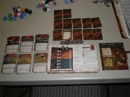 Image result for warhammer fantasy role play action card setup