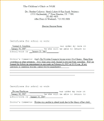 Blank Doctors Note Template – Pitikih