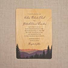 real wood wedding invitations smoky mountains 2594883 weddbook Real Wood Wedding Invitations real wood wedding invitations smoky mountains real wood wedding invitations custom