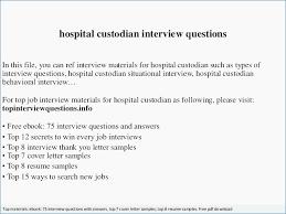 Custodian Resume Sample Janitor Resume Objective Resume Example