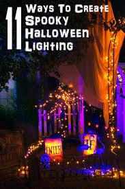 halloween outdoor lighting. 11 Ways To Create Spooky Halloween Lighting Outdoor C