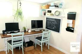 awesome home office 2 2 office. Two Desk Home Office Exciting Person Design Large . Awesome 2