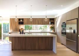 contemporary kitchen furniture detail. Modern Contemporary Kitchen In Warm Tones With A Huge Island Bench Furniture Detail C