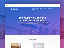 Bootstrap Website Templates Mesmerizing 28 Free Responsive Business Website Templates 28 UiCookies