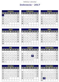 calendar 2017 indonesia template calendar template 2017