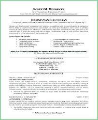 Maintenance Electrician Resume Wikirian Com