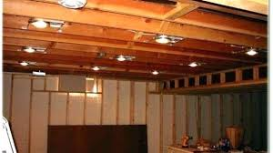 Unfinished basement lighting Cool Unfinished Basement Lighting Stylish Options For Ceiling Astound Click Within Incredible Light Fixtures Basement Ceiling Lighting Druidentuminfo Best Lighting For Basement Office Options Unfinished Image Of Ligh