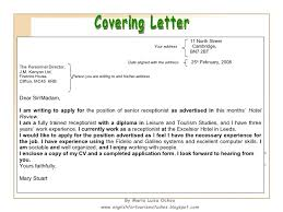 What Do You Put On A Cv Cover Letter Starengineering How To Put An