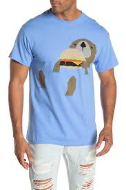 Altru My Chart Burger Otter T Shirt