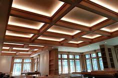 coffered ceiling lighting. Beautiful Ceiling Once The Electricians Completed Wiring LEDs And Finally Threw  Switch We Were Pretty Stunned The Dimmable Lighting Takes Ambiance From A Bright  And Coffered Ceiling Lighting E