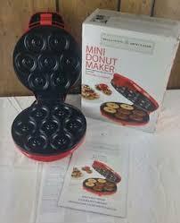 Image is loading Bella-Cucina-13466-Donut-Maker-Electric-Mini-Donut-