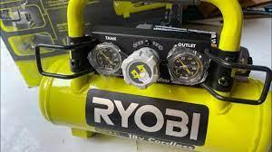 Máy bơm hơi Ryobi P739 9 lít Ryobi bơm pin gia 3tr9 thân máy lh 0962232180  Tùng - YouTube