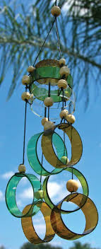 wine bottle wind chime most liked wind chimes for a sparkling garden year