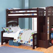twin over full bunk bed with stairs. Bedroom:Twin Over Full Staircase Bunk Plans Diy Built In Log With Stairs Ideas Queen Twin Bed V