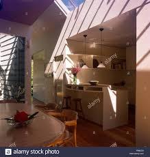 Anfang Der Neunziger Jahre Architektonische Wohnküche Mit 50er Jahre