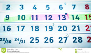 Jours De Calendrier De Planification De Grossesse