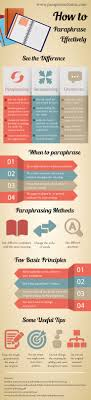best examples of plagiarism ideas plagiarism how to paraphrase effectively infographic