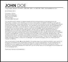 Marketing Cover Letter Sample Free Digital Marketing Manager Cover Letter Templates