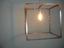 Beautiful Chicken Wire Chandelier Khalima Lights Handmade Custom Copper  Lighting Charleston Sc Interior Decor Concept