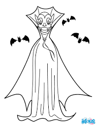 Small Picture Dracula black cloak coloring pages Hellokidscom