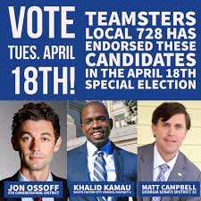 local 728 teamsters local 728 endorsements for the 18th special election