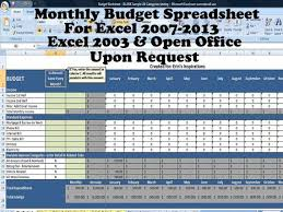 finances excel monthly budget spreadsheet home finance management excel worksheet