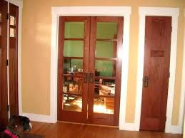 stained doors with painted trim painting wood doors white painting wood doors and trim white por