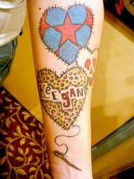 Patchwork Heart Tattoo | Found on willkoffmantattoo.blogspot.com ... & Tattoo Adamdwight.com