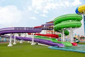 4 fiberglass water slide for 5 warantee one year 6 quality control strong qc team 7 steel columns hot galvanized