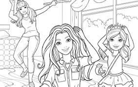 Print barbie coloring pages for free and color our barbie coloring! Downloads Play Barbie