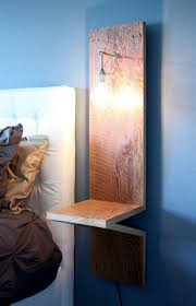 Lamp For Bedroom Side Table 17 Best Ideas About Rustic Side Table On Pinterest Wood Pallet