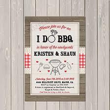 Couple Wedding Shower Invitations I Do Bbq Invitation Couples Wedding Shower Barbecue Invitation Engagement Party Bbq Invite Rustic Wedding Shower Invitation