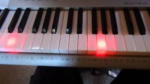 Piano Key Lights Casio Lk 280 Sd Midi