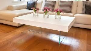 white oak coffee table white oak and glass coffee table