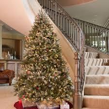Snowy Dunhill Full Pre-lit Christmas Tree - Walmart.com. Snowy Dunhill Full