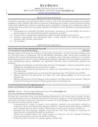 Visual Merchandising Resume Examples Best of Regional Visual Merchandiser Resume Tierbrianhenryco