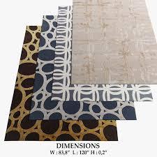 the rug company rugs 44 3d model max obj fbx mtl 1