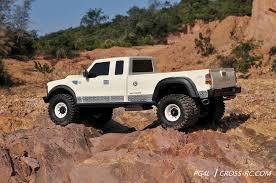 Cross-RC PG4L Dually Pickup Truck Crawler Kit 1/10 Scale 4x4 2-Speed