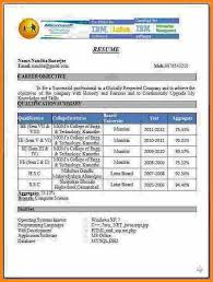 Best Cv Format For Freshers Creative Best Resume Format For Freshers